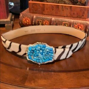 Accessories by T Leather belt